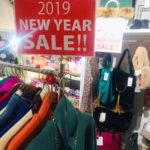 2019 NEW YEAR SALE! 始まっております!!